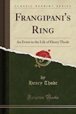 Frangipani's Ring