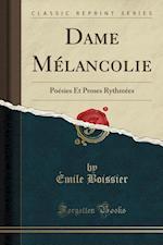 Dame Melancolie af Emile Boissier