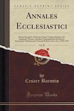 Annales Ecclesiastici, Vol. 20