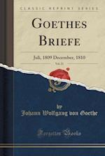 Goethes Briefe, Vol. 21
