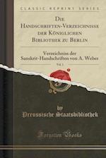 Die Handschriften-Verzeichnisse Der Koniglichen Bibliothek Zu Berlin, Vol. 1
