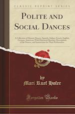 Polite and Social Dances