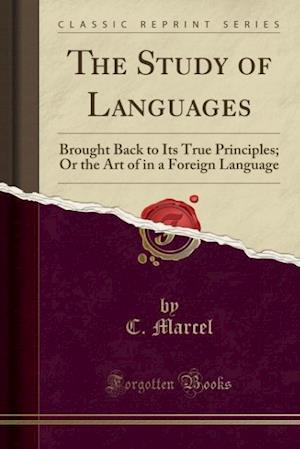 Bog, paperback The Study of Languages af C. Marcel