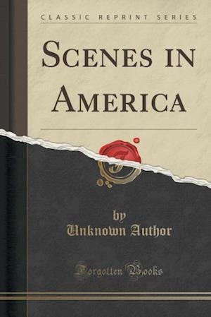 Bog, paperback Scenes in America (Classic Reprint) af Unknown Author