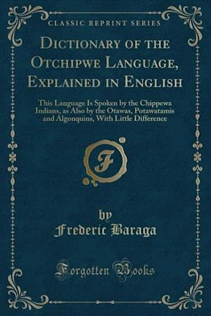 Bog, paperback Dictionary of the Otchipwe Language, Explained in English af Frederic Baraga
