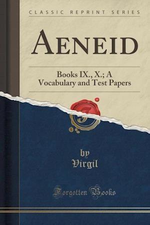 Bog, paperback Aeneid af Virgil Virgil