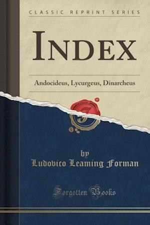 Bog, paperback Index af Ludovico Leaming Forman