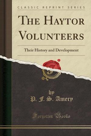 Bog, paperback The Haytor Volunteers af P. F. S. Amery