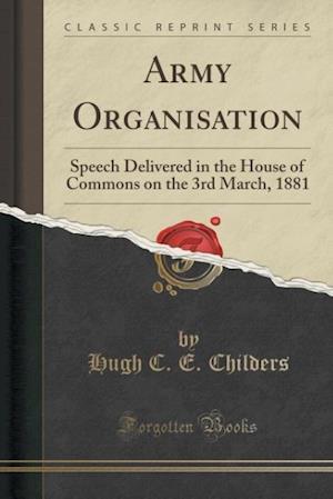 Bog, paperback Army Organisation af Hugh C. E. Childers