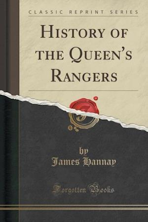 Bog, paperback History of the Queen's Rangers (Classic Reprint) af James Hannay