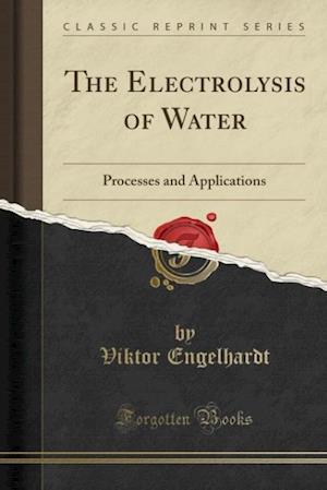 Bog, paperback The Electrolysis of Water af Viktor Engelhardt