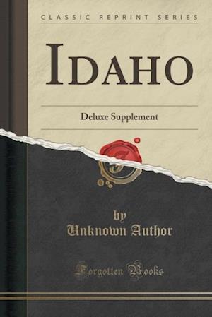 Bog, paperback Idaho af Unknown Author