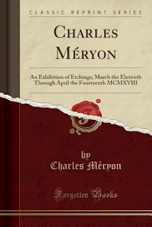 Bog, paperback Charles Meryon af Charles Meryon