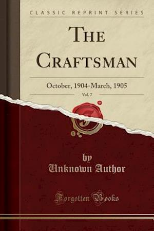 Bog, paperback The Craftsman, Vol. 7 af Unknown Author