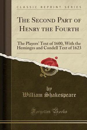 Bog, paperback The Second Part of Henry the Fourth af William Shakespeare