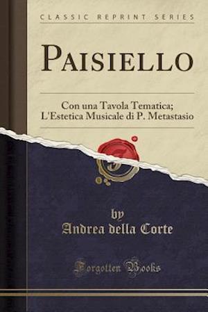 Bog, paperback Paisiello af Andrea Della Corte