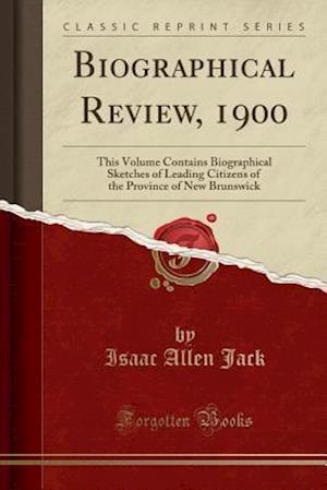 Bog, paperback Biographical Review, 1900 af Isaac Allen Jack