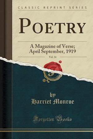 Bog, paperback Poetry, Vol. 14 af Harriet Monroe