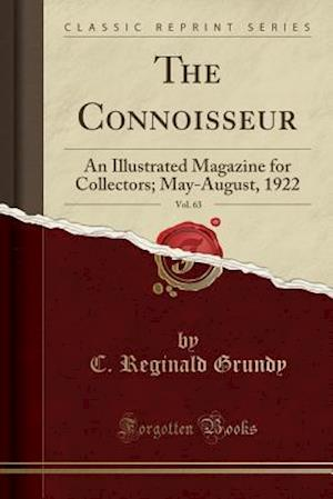 Bog, paperback The Connoisseur, Vol. 63 af C. Reginald Grundy