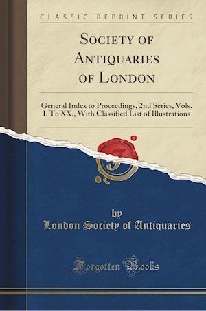 Bog, paperback Society of Antiquaries of London af London Society of Antiquaries