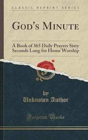 Bog, hardback God's Minute af Unknown Author