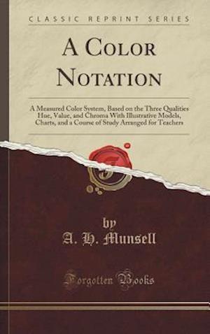 Bog, hardback A Color Notation af A. H. Munsell