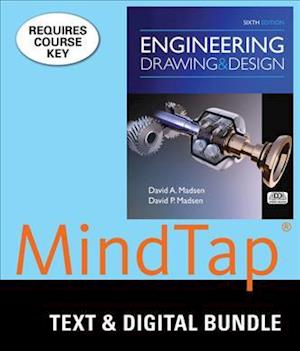 Engineering Drawing & Design + Mindtap Drafting, 2-Term Access af David A. Madsen