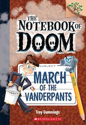 Bog, paperback March of the Vanderpants af Troy Cummings