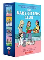 Baby-Sitters Club Graphix #1-4 Box Set (Baby-sitter's Club Graphix)