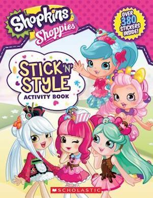 Bog, paperback Stick 'n' Style Fun! (Shopkins af Leigh Stephens