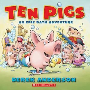 Bog, ukendt format Ten Pigs af Derek Anderson
