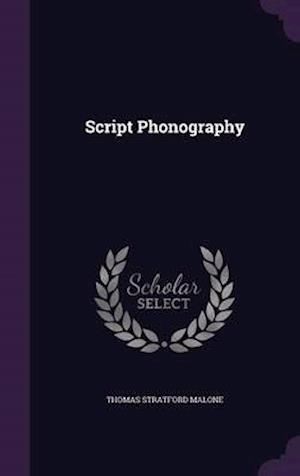 Script Phonography af Thomas Stratford Malone