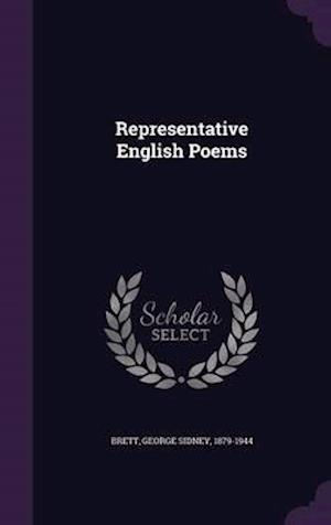 Representative English Poems af George Sidney 1879-1944 Brett