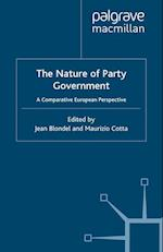 The Nature of Party Government af J. Blondel