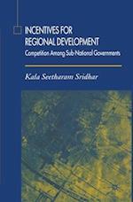 Incentives for Regional Development af K. Sridhar