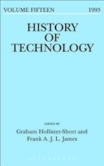 History of Technology Volume 15 (HISTORY OF TECHNOLOGY)