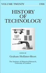 History of Technology Volume 20 (HISTORY OF TECHNOLOGY)