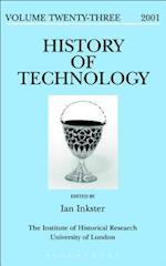 History of Technology Volume 23 (HISTORY OF TECHNOLOGY)