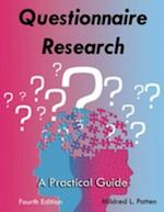 Questionnaire Research af Mildred L Patten