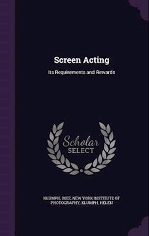 Screen Acting af Inez Klumph, Helen Klumph