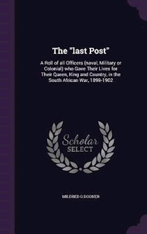 The Last Post af Mildred G. Dooner