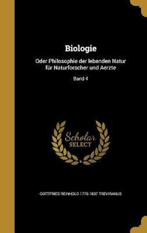 Biologie af Gottfried Reinhold 1776-1837 Treviranus