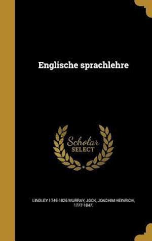 Englische Sprachlehre af Lindley 1745-1826 Murray