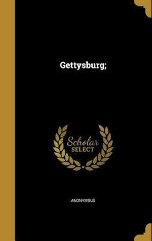 Bog, hardback Gettysburg;