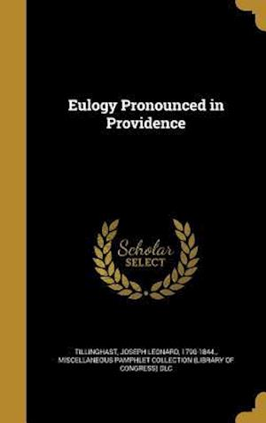Bog, hardback Eulogy Pronounced in Providence