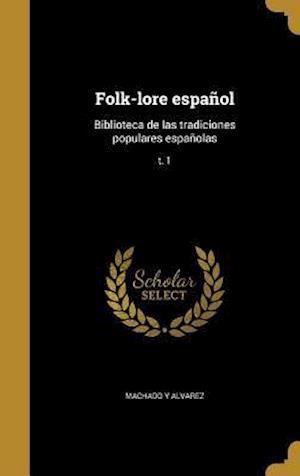 Bog, hardback Folk-Lore Espanol
