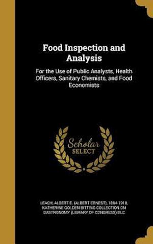 Bog, hardback Food Inspection and Analysis