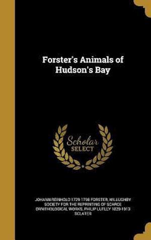 Forster's Animals of Hudson's Bay af Johann Reinhold 1729-1798 Forster, Philip Lutley 1829-1913 Sclater
