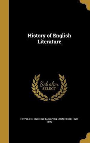 History of English Literature af Hippolyte 1828-1893 Taine