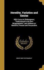 Heredity, Variation and Genius af Henry 1835-1918 Maudsley